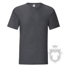 Camisetas Fruit of the Loom Iconic T color Dark Heather Grey :: Ref: HD