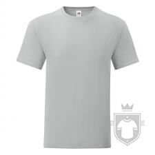 Camisetas Fruit of the Loom Iconic T color Zinc :: Ref: XW