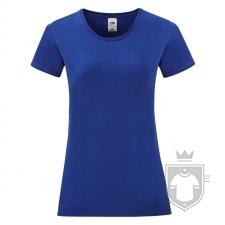 Camisetas Fruit of the Loom Iconic T W color Cobalt Blue :: Ref: CB