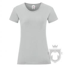 Camisetas Fruit of the Loom Iconic T W color Zinc :: Ref: XW