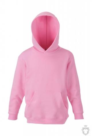 Sudaderas Fruit of the Loom Capucha Kids color Light Pink :: Ref: 52