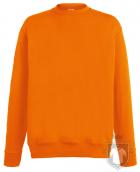 Sudaderas Fruit of the Loom Lightweight Set in color Orange :: Ref: 44