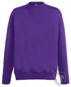 Sudaderas Fruit of the Loom Lightweight Set in color Purple :: Ref: PE