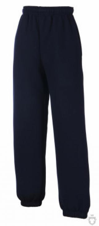 Pantalones Fruit of the Loom Pantalon bajos elasticos K color Deep Navy :: Ref: AZ
