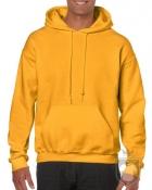 Sudaderas Gildan Heavy Capucha color Gold :: Ref: 024
