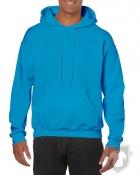 Sudaderas Gildan Heavy Capucha color Sapphire :: Ref: 026