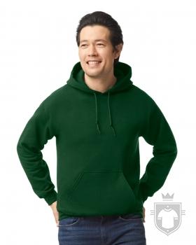 Sudaderas Gildan Heavy Capucha color forest green :: Ref: 033