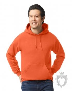 Sudaderas Gildan Heavy Capucha color orange :: Ref: 037