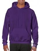 Sudaderas Gildan Heavy Capucha color purple :: Ref: 081