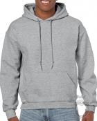 Sudaderas Gildan Heavy Capucha color Sport grey :: Ref: 095
