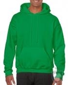 Sudaderas Gildan Heavy Capucha color Irish green :: Ref: 167