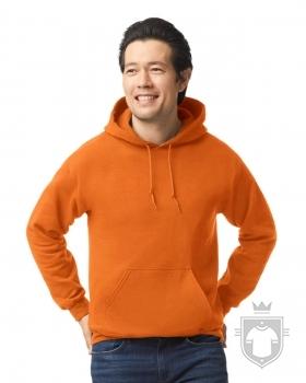 Sudaderas Gildan Heavy Capucha color safety orange :: Ref: 193
