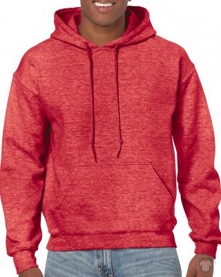 Sudaderas Gildan Heavy Capucha color Heather Sport Scarlet Red :: Ref: 778