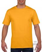 Camisetas Gildan Premium color Gold :: Ref: 024