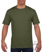Camisetas Gildan Premium color military green :: Ref: 106