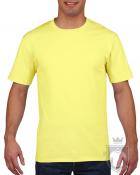 Camisetas Gildan Premium color Cornsilk :: Ref: 475