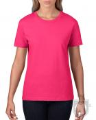Camisetas Gildan Premium W color Heliconia :: Ref: 010