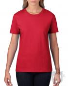 Camisetas Gildan Premium W color red :: Ref: 040