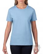 Camisetas Gildan Premium W color Light blue :: Ref: 069