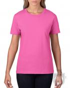 Camisetas Gildan Premium W color Azalea :: Ref: 071