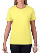 Camisetas Gildan Premium W color Cornsilk :: Ref: 475