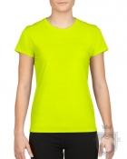 Camisetas Gildan Gildan Performance W color safety green :: Ref: 188