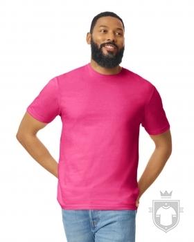 Camisetas Gildan Ring Spun    color Heliconia :: Ref: 010