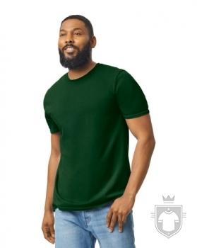 Camisetas Gildan Ring Spun    color forest green :: Ref: 033