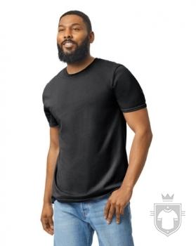 Camisetas Gildan Ring Spun    color Black :: Ref: 036