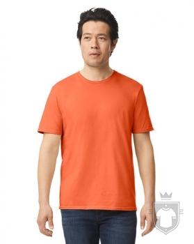 Camisetas Gildan Ring Spun    color orange :: Ref: 037