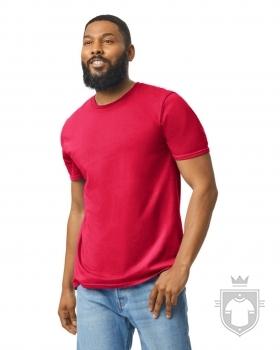 Camisetas Gildan Ring Spun    color red :: Ref: 040