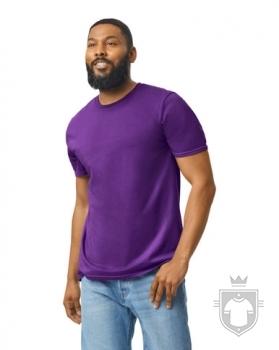 Camisetas Gildan Ring Spun    color purple :: Ref: 081