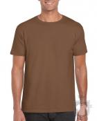 Camisetas Gildan Ring Spun    color chestnut :: Ref: 084