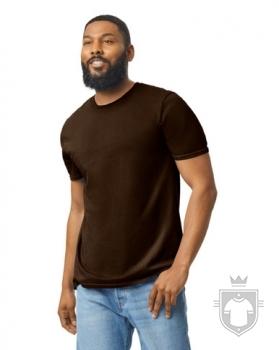 Camisetas Gildan Ring Spun    color dark chocolate :: Ref: 105