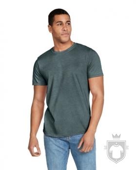 Camisetas Gildan Ring Spun    color dark heather :: Ref: 108