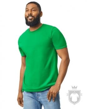 Camisetas Gildan Ring Spun    color Irish green :: Ref: 167