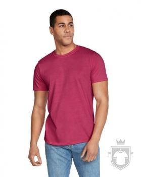 Camisetas Gildan Ring Spun    color heather cardinal :: Ref: 169