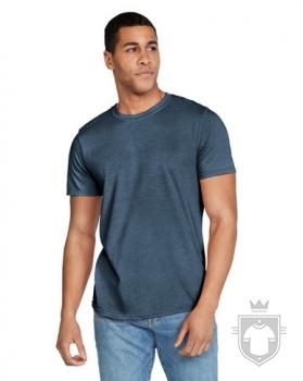 Camisetas Gildan Ring Spun    color Heather navy :: Ref: 170