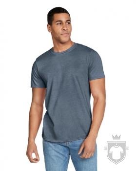 Camisetas Gildan Ring Spun    color Heather Indigo :: Ref: 173