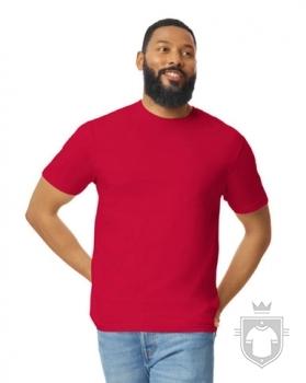 Camisetas Gildan Ring Spun    color cherry red :: Ref: 194