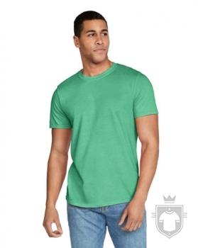 Camisetas Gildan Ring Spun    color Heather Irish Green :: Ref: 215