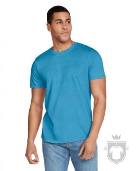 Camisetas Gildan Ring Spun    color Heather Saphire :: Ref: 217