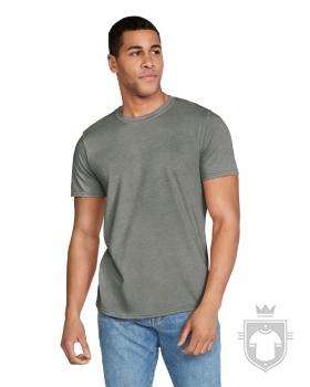 Camisetas Gildan Ring Spun    color Heather Military Green :: Ref: 231