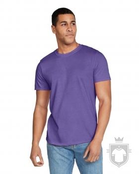 Camisetas Gildan Ring Spun    color Heather purple :: Ref: 232
