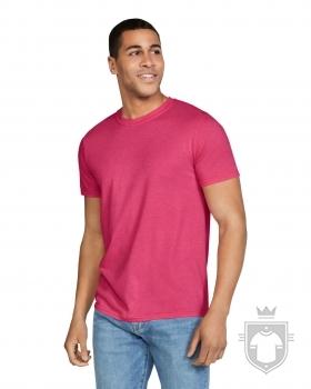 Camisetas Gildan Ring Spun    color Heather Red :: Ref: 234