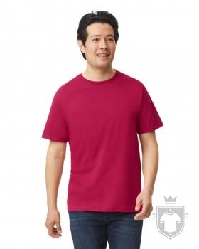 Camisetas Gildan Ring Spun    color Antique Cherry Red :: Ref: 246
