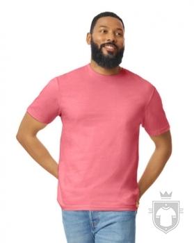 Camisetas Gildan Ring Spun    color Coral Silk :: Ref: 256