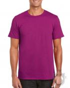 Camisetas Gildan Ring Spun    color Berry :: Ref: 268