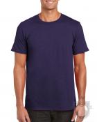 Camisetas Gildan Ring Spun    color Blackberry :: Ref: 278