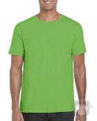 Camisetas Gildan Ring Spun    color Electric Green :: Ref: 279
